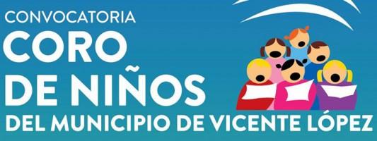 Convocatoria para el Coro de Niños en Vicente López