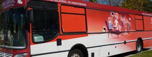 Colecta de sangre en Vicente López