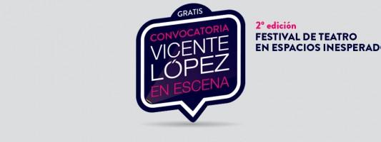 Convocatoria para obras, proyectos teatrales y elencos de Vicente López