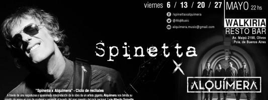 """Alquímera presenta su ciclo de recitales """"Spinetta x Alquímera"""""""