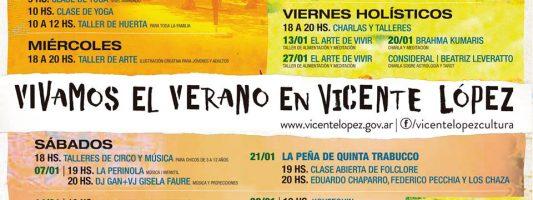 Verano en Vicente López