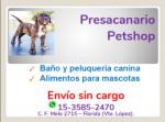 PRESACANARIO petshop