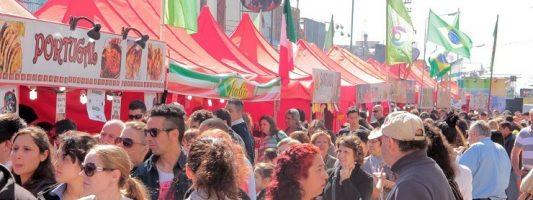 Los 77 años de Carapachay se festejan con la Feria de las Colectividades