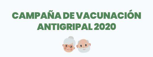 CAMPAÑA DE VACUNACIÓN ANTIGRIPAL 2020
